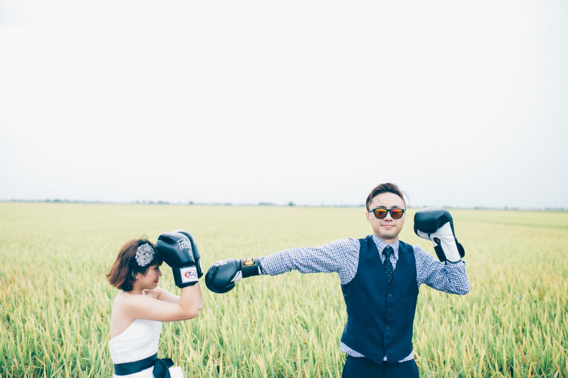 Boxing in Sekinchan