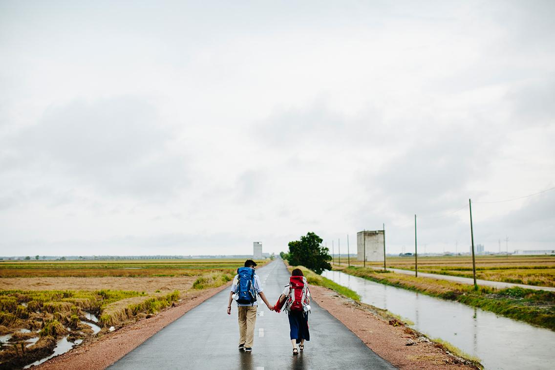 Backpacking in Sekinchan
